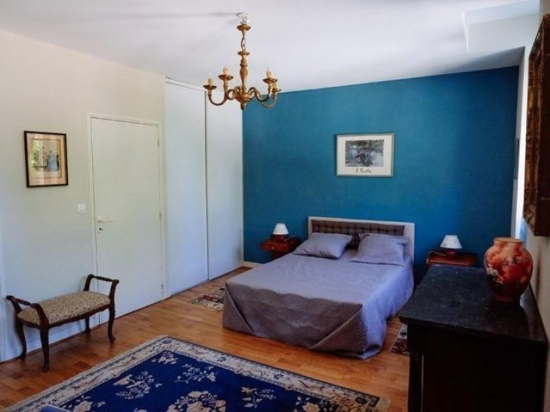 Grande chambre bleue
