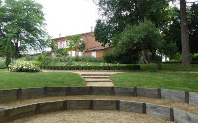 L'amphithéâtre et la maison